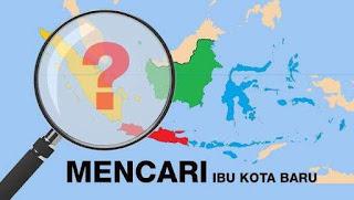 pindah ibukota indonesia
