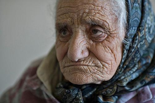 extreme oldest wrinkled facial
