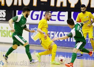 Με 11-1 νίκησε ο ΑΠΟΕΛ το ΘΟΙ στο Futsal