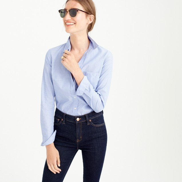 J Crew Everyday Shirt in End on End Cotton