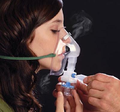 terapi uap untuk orang asma
