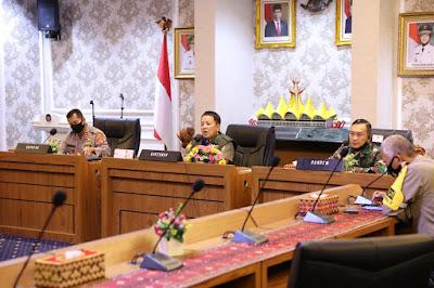 Bandarlampung Zona Merah Covid-19, Gubernur Arinal Lakukan Koordinasi Bersama Kabupaten/Kota se- Provinsi Lampung