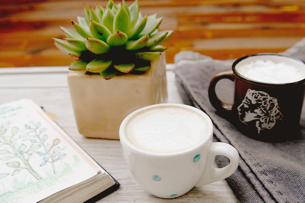 Sketchbook coffee
