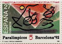 JUEGOS PARALÍMPICOS BARCELONA 92