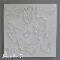 My Acrylix® stamps on White cs