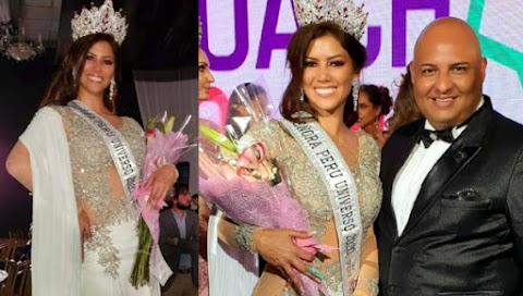 María José Pando es Señora Perú Universo 2020