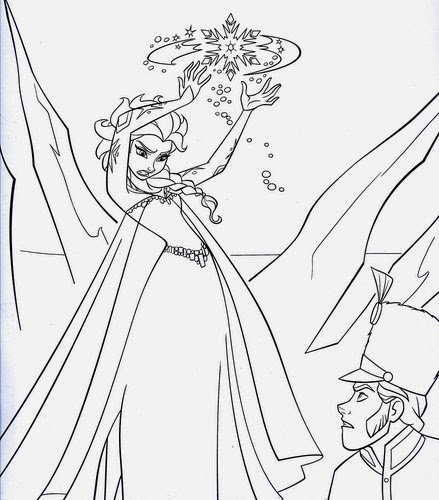 Disney Movie Princesses Quot Frozen Quot Printable Coloring Pages