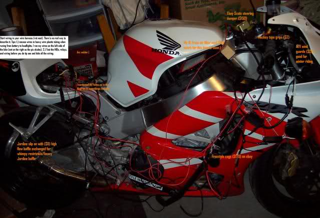 5 honda cbr 929rr 954rr how to hid retrofit, projectors, angel 2000 honda cbr 929 wiring harness at gsmx.co