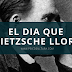Análisis psicoliterario: El dia que Nietzsche lloro