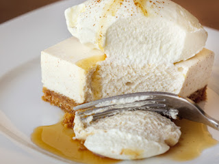 sweet treat supply - egg nog cheesecake - thanksgiving dessert recipes
