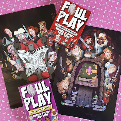 Foul Play Murder Mystery Card Game Review Age 8+ Sent for review