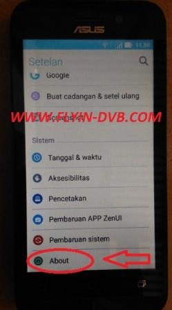 bypass email verifikasi ASUS_X009DA (ZB450KL) Tahap 8