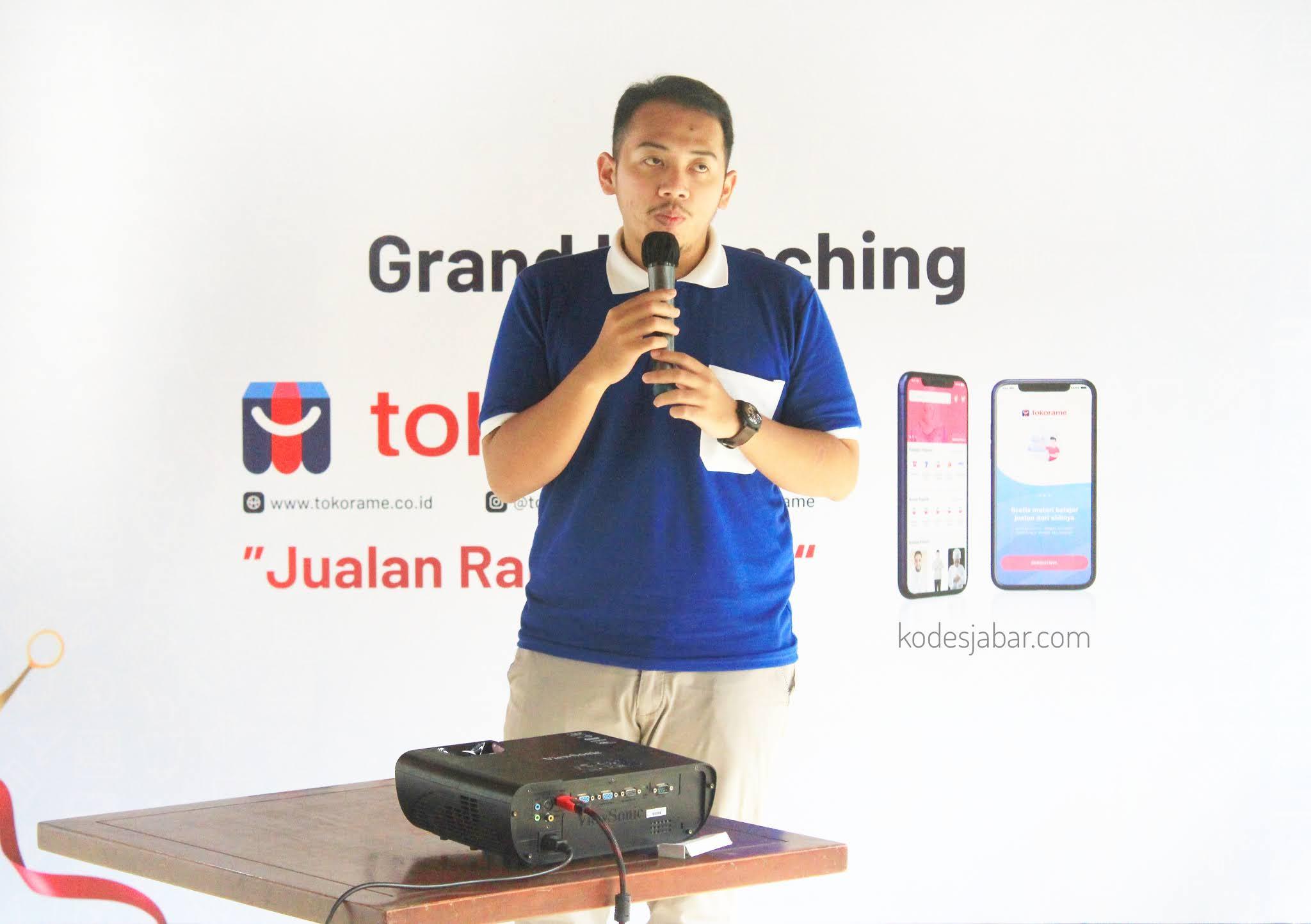 Grand launching Tokorame di Bandung