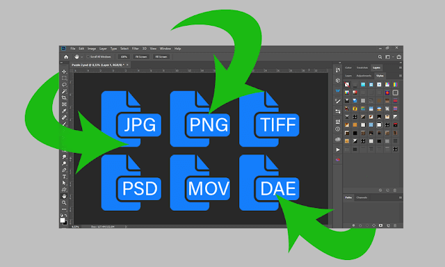 Couple of Ways to Open a Single File in Photoshop
