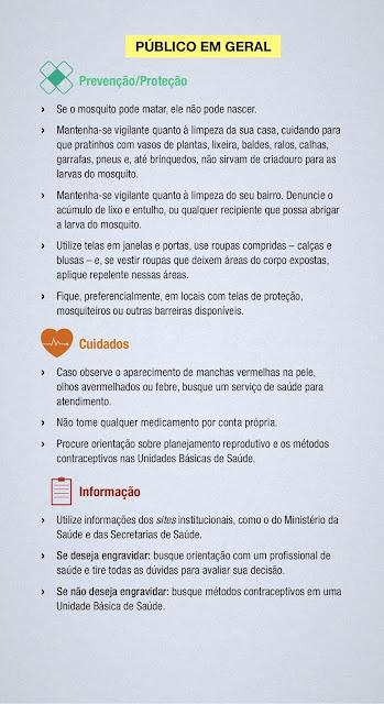 Vírus Zika Prevenção