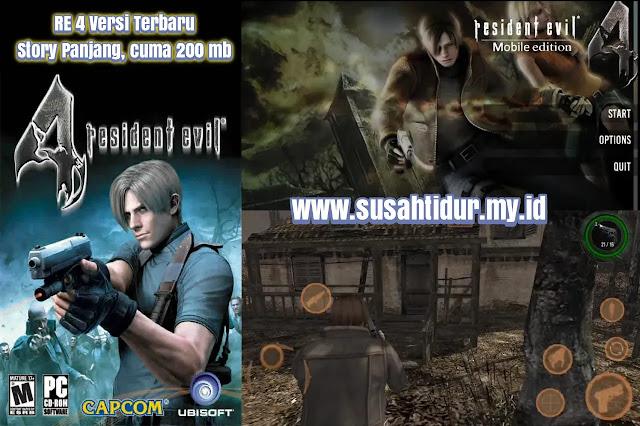 Resident Evil 4 Android Versi Fanmade Terbaru