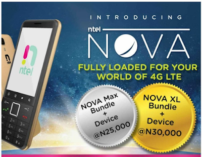 ntel nova specifications