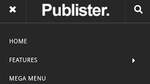 Publister Blogger Template from SoraTemplates