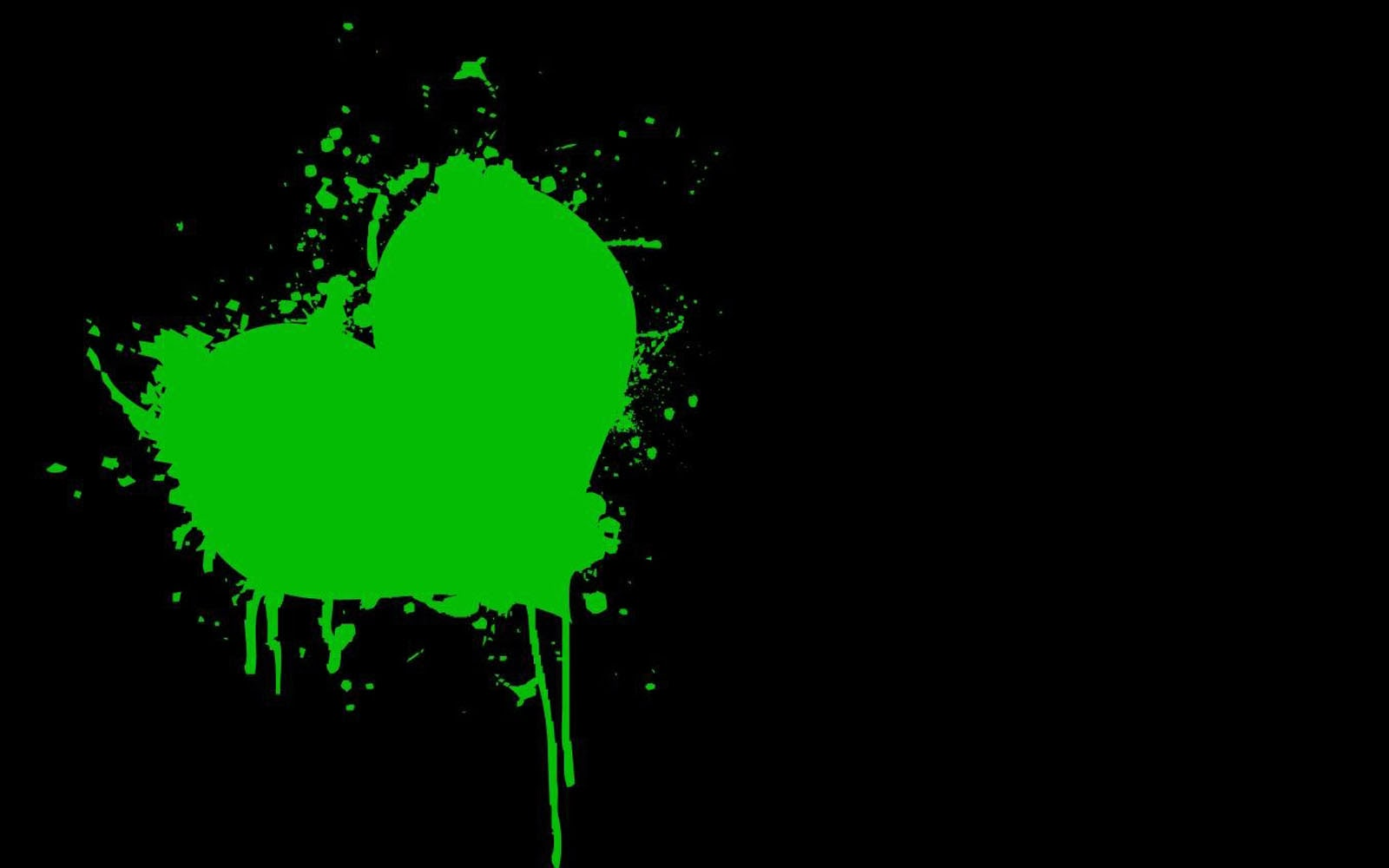 green hearts background - photo #5