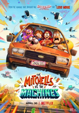The Mitchells vs. The Machines 2021 HDRip 720p Dual Audio
