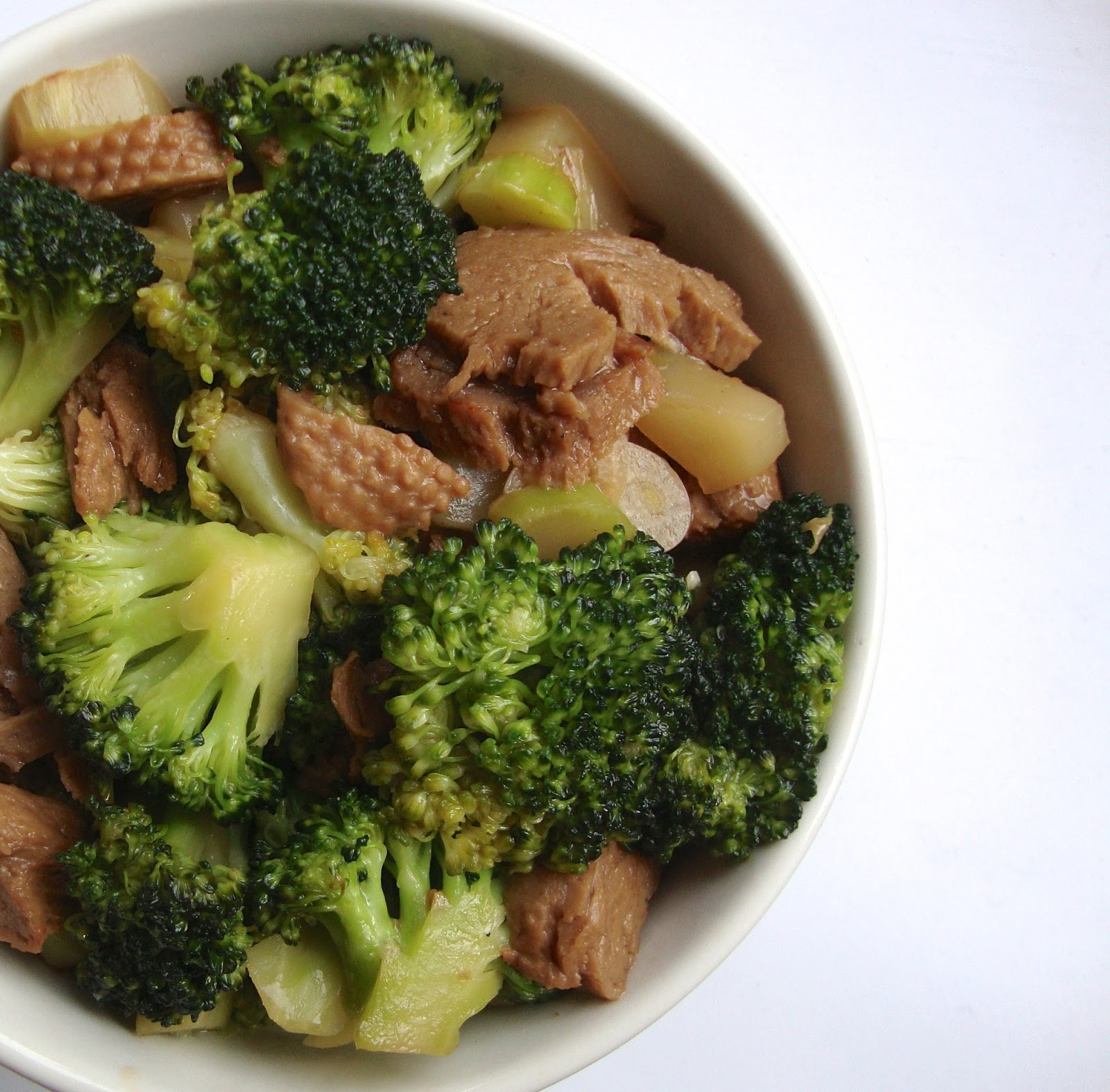 cooketteria imitation game mock duck broccoli stir fry. Black Bedroom Furniture Sets. Home Design Ideas