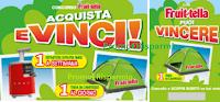 Logo Fruittella: vinci estrattori si succo Smeg e tende da campeggio ( anche senza acquisto)
