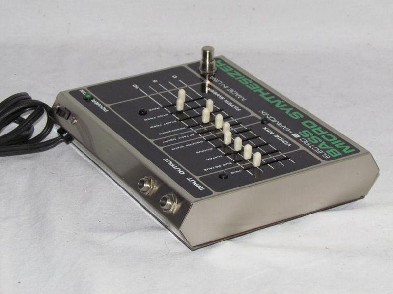 matrixsynth vintage electro harmonix bass micro synthesizer. Black Bedroom Furniture Sets. Home Design Ideas