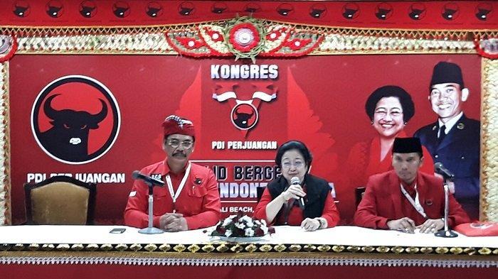 Megawati Umumkan Pengurus Baru PDI-P Periode 2019 - 2024