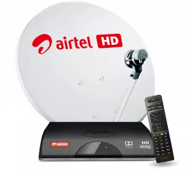 airtel set top box red light problem