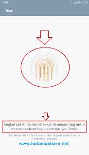 fingerprint xiaomi bermasalah