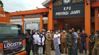 Pj Gubernur Jambi Adakan Rakor Bersama KPU dan Bawaslu Provinsi