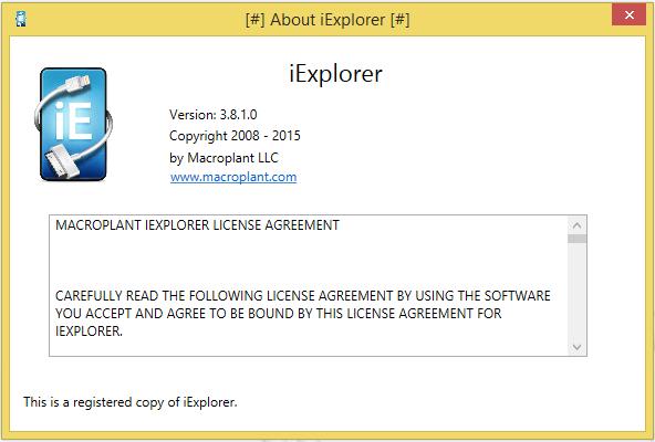 SOFTWARE KHAZANA: iExplorer 3 8 1 0 Serial Key is Here! [Latest]