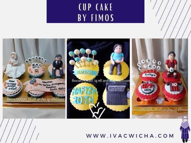 cup cake fimos