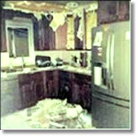 Picture of kitchen after fire
