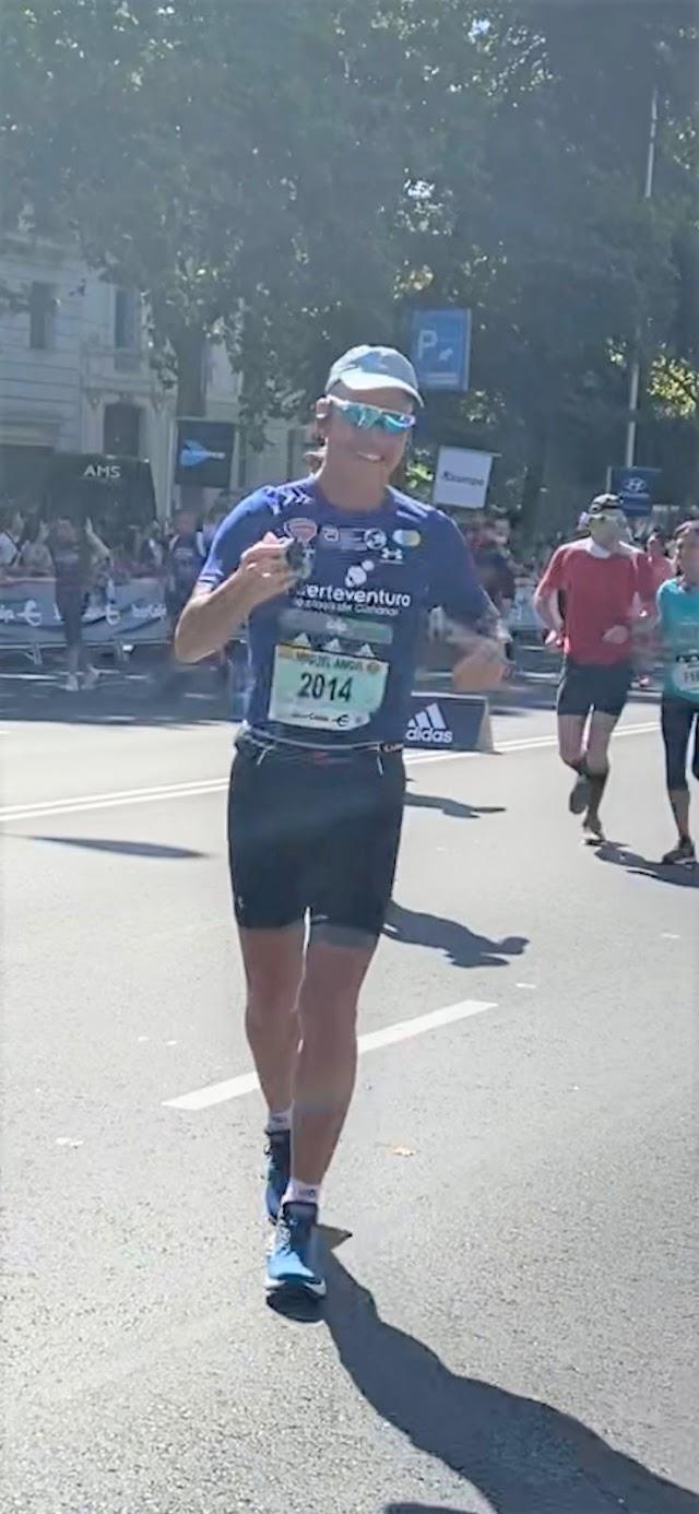 Fuerteventura.- Atleta Miguel Socorro triunfa en atletismo y se posiciona como uno de los 'Six Stars' de Maratón