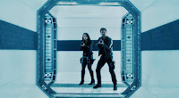 Melissa O'Neil and Anthony Lemke in Dark Matter Season 3 (21)