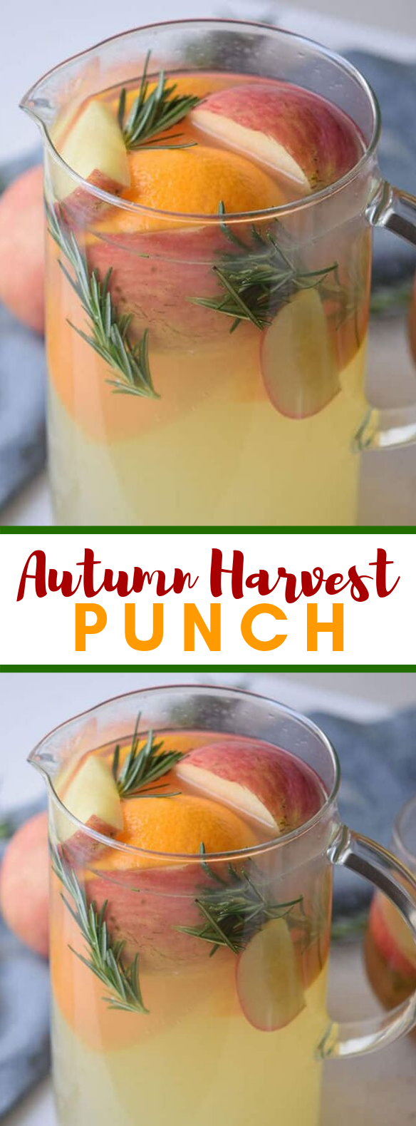 Autumn Harvest Punch Recipe (Mocktail) #drinks #kidfriendly