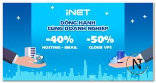 iNET khuyến mại hỗ trợ doanh nghiệp vượt qua mùa dịch