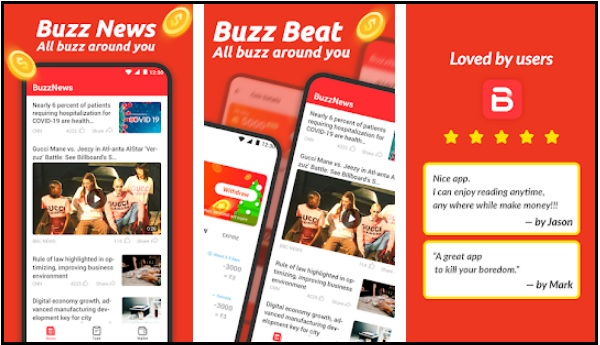 Buzzbeat Apk Penghasil Saldo Dana