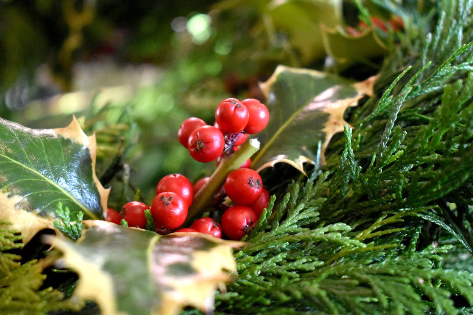Christmas at Cragside - Wreath