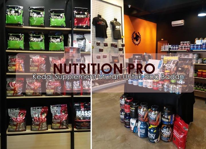 Nutrition Pro - Kedai Pembekal Supplement Dipercayai Untuk Bina Badan