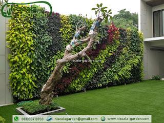 Vertical Garden Surabaya atau jasa pembuatan vertical garden di surabaya