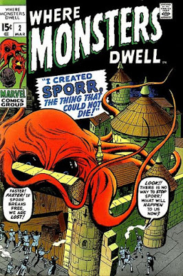 Where Monsters Dwell #2, Sporr