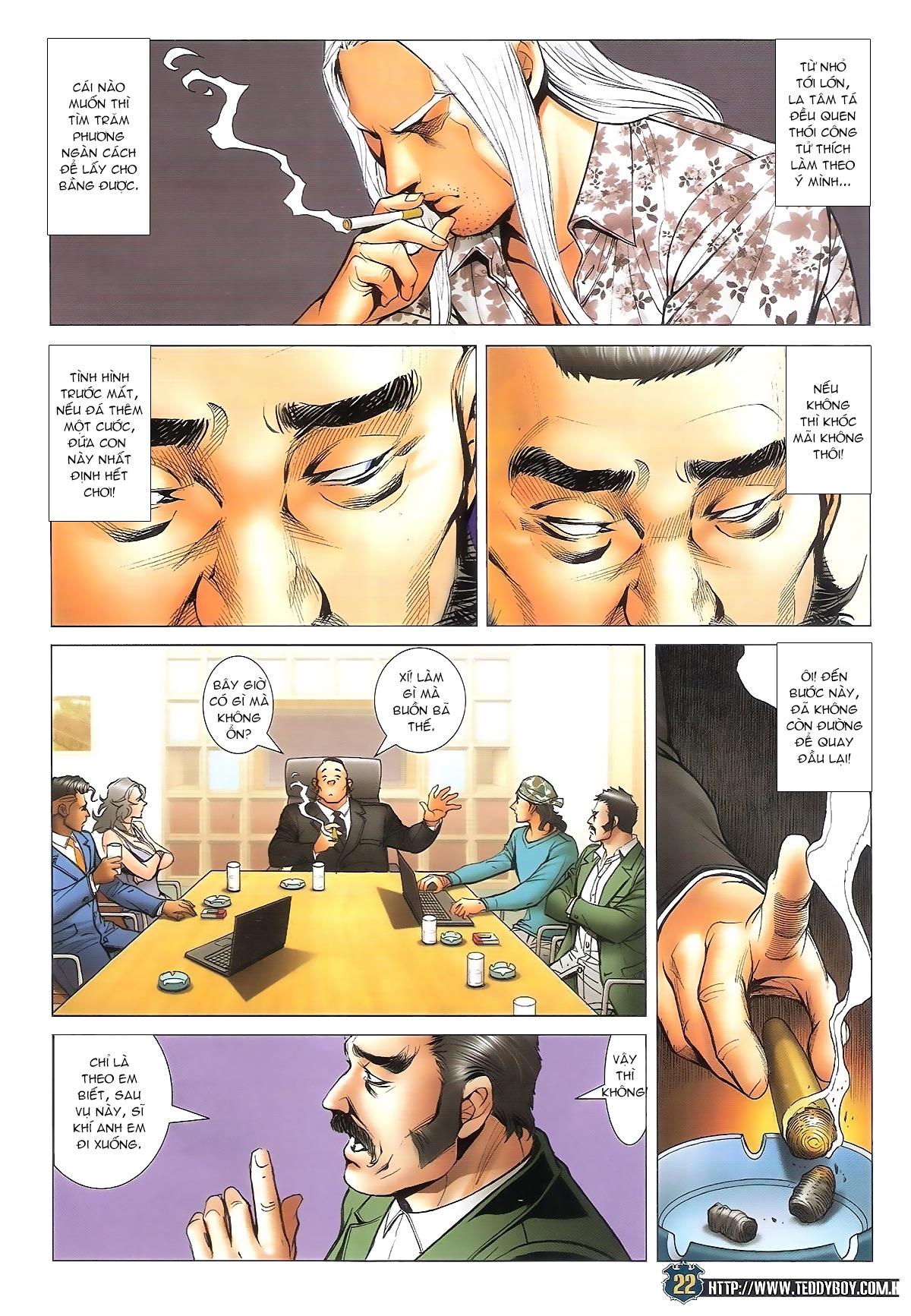 Người Trong Giang Hồ chapter 1706: kịch chiến trang 21