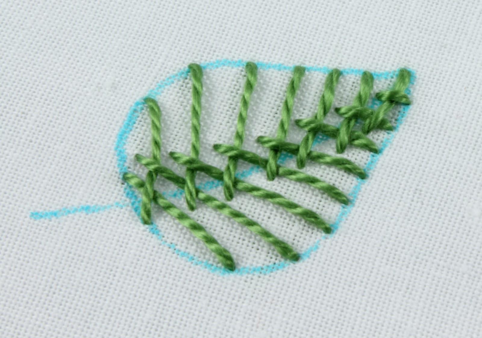 Big B 100 Stitches Leaf Stitch