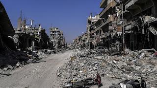 US Airstrikes Found in Raqqa