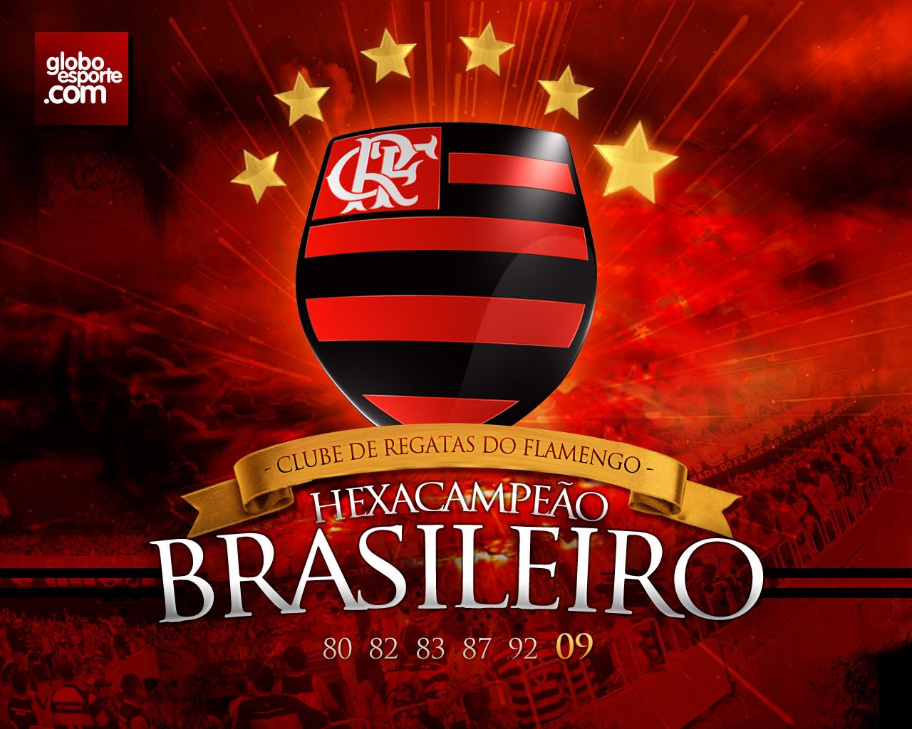 Escudo Do Flamengo Papel De Parede