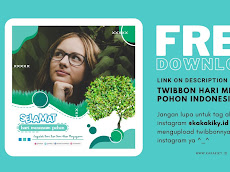 Download Twibbon (Bingkai Foto) Hari Menanam Pohon Indonesia (HMPI) 2020