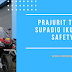 Prajurit TNI AU Lanud Supadio Ikutan Edukasi Safety Riding