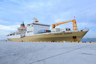 KM. Dempo, Mengawali Uji Coba Kapal Pelni Sandar di Pelabuhan Pantimban